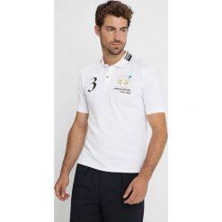 La Martina JEPSON Koszulka polo optic white. Białe koszulki polo La Martina, l, z bawełny. Za 789,00 zł.