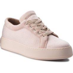 Sneakersy MAXMARA - MM94 45268187600 Rosa Chiaro 012. Czerwone sneakersy damskie MaxMara, z materiału. W wyprzedaży za 1019,00 zł.