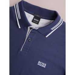 BOSS ATHLEISURE PAUL SLIM FIT Koszulka polo navy. Niebieskie koszulki polo marki BOSS Athleisure, m. Za 379,00 zł.