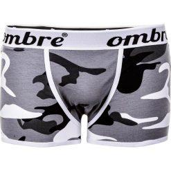 BOKSERKI MĘSKIE U02 - MORO 2-PAK. Czarne bokserki męskie marki Ombre Clothing, m, w kropki. Za 29,00 zł.