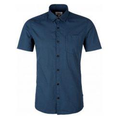 Q/S Designed By Koszula Męska Xxl, Ciemnoniebieski. Brązowe koszule męskie na spinki marki QUECHUA, m, z elastanu, z krótkim rękawem. Za 119,00 zł.