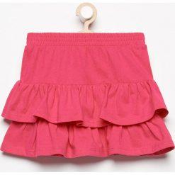 Spódnica z falbanami - Różowy. Czerwone spódniczki dziewczęce Reserved. W wyprzedaży za 14,99 zł.