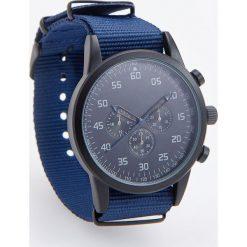Zegarek w sportowym stylu - Granatowy. Niebieskie zegarki męskie Reserved. Za 79,99 zł.