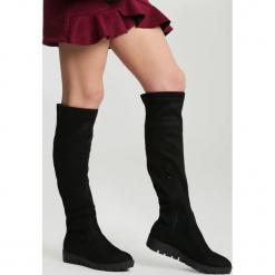 Czarne Kozaki Save The Last. Czarne buty zimowe damskie vices, na płaskiej podeszwie. Za 139,99 zł.
