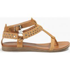 Rzymianki damskie: Sandały brązowe Latina