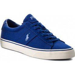 Tenisówki POLO RALPH LAUREN - Sayer 816710028003 Blue. Niebieskie tenisówki męskie Polo Ralph Lauren, z gumy. Za 349,90 zł.
