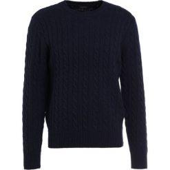 Swetry klasyczne męskie: J.CREW CABLE Sweter navy