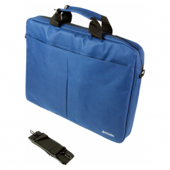 Accura ProOffice Tanja ACC6066 15,6'' granat. Szare torby na laptopa Accura, w paski. Za 39,90 zł.
