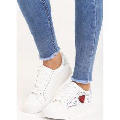 Buty sportowe męskie: Białe Buty Sportowe Go On