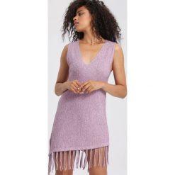 Fioletowa Sukienka An Angel. Fioletowe sukienki mini marki other, xl, oversize. Za 49,99 zł.