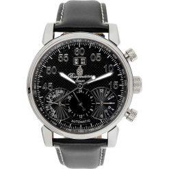 """Zegarki męskie: Zegarek """"Montreal"""" w kolorze czarno-srebrnym"""