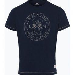 La Martina - T-shirt męski, niebieski. Niebieskie t-shirty męskie z nadrukiem La Martina, l, z bawełny. Za 169,95 zł.