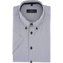 Koszula SERGIO Slim 15-10-54-K. Czarne koszule męskie na spinki marki TOM TAILOR DENIM, l, z bawełny, button down, z długim rękawem. Za 149,00 zł.