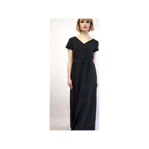 c3490a4491 Długie sukienki damskie z klasycznym kołnierzykiem - Zniżki do 70%! -  Kolekcja wiosna 2019 - myBaze.com