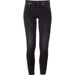 7 for all mankind ILLUSION LUXE REBEL Jeans Skinny Fit rebel. Szare rurki damskie 7 for all mankind, z bawełny. Za 929,00 zł.