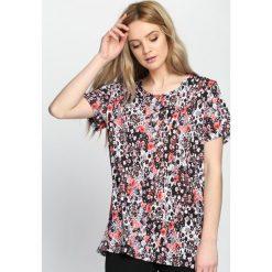 Bluzki damskie: Różowy T-shirt Midnight