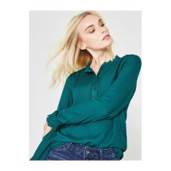 Bluzka damska. Szare bluzki koszulowe Promod, z tkaniny, retro. Za 119,90 zł.