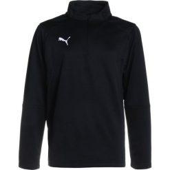 T-shirty chłopięce: Puma LIGA TRAINING ZIP  Koszulka sportowa black/white