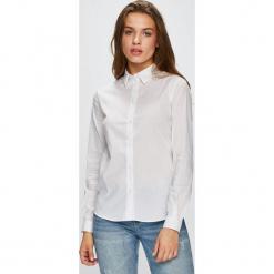 Trussardi Jeans - Koszula. Szare koszule jeansowe damskie marki Trussardi Jeans, casualowe, z klasycznym kołnierzykiem, z długim rękawem. Za 319,90 zł.