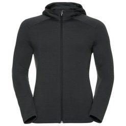 Odlo Bluza tech. Odlo Hoody midlayer SIERRA                    - 527942 - 527942/10353/XXL. Czarne bluzy sportowe damskie marki Odlo, xxl. Za 246,26 zł.