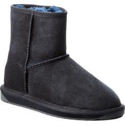 Buty EMU AUSTRALIA - Stinger Mini W10003 Midnight/Minuit. Niebieskie buty zimowe damskie EMU Australia, ze skóry. Za 639,00 zł.