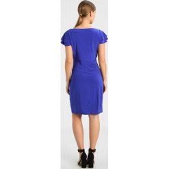 Sukienki hiszpanki: Lauren Ralph Lauren Petite BRISA SHORT SLEEVE DAY DRESS Sukienka etui purple opal