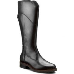 Oficerki TAMARIS - 1-25665-27 Black 001. Szare buty zimowe damskie marki Tamaris, z materiału. W wyprzedaży za 199,00 zł.