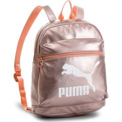 Plecaki damskie: Plecak PUMA – Prime Backpack Metallic 075164 Peach Beige-Metallic 01