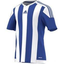 Adidas Koszulka piłkarska męska Squadra 17 niebiesko-biała r. XXL (S16138). Białe koszulki sportowe męskie Adidas, m. Za 91,23 zł.