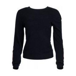 Desigual Sweter Damski Txell L Ciemnoniebieski. Czarne swetry klasyczne damskie marki Desigual, l. W wyprzedaży za 259,00 zł.