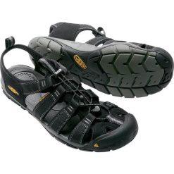 Sandały męskie: Keen Sandały męskie Clearwater CNX Black/Gargoyle r. 44.5 (CLEARWTR-MN-BKGY)