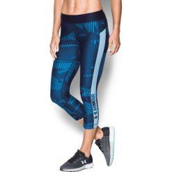 Spodnie dresowe damskie: Under Armour Spodnie damskie  PrintGrap Capri niebieskie r. XS (1302774-410)
