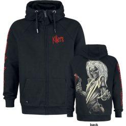 Iron Maiden EMP Signature Collection Bluza z kapturem rozpinana czarny. Czarne bejsbolówki męskie Iron Maiden, m, z aplikacjami, z materiału, z kapturem. Za 194,90 zł.