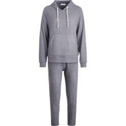 Piżamy damskie: Pieces PCCAIA XMAS RIBBON SET Piżama medium grey melange