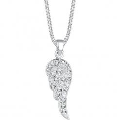 Srebrny naszyjnik z kryształkami Swarovski - dł. 45 cm. Żółte naszyjniki damskie marki METROPOLITAN, pozłacane. W wyprzedaży za 90,95 zł.