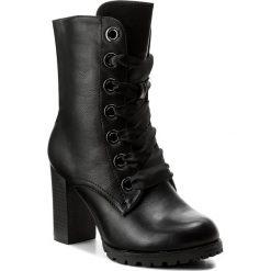 Botki JENNY FAIRY - WS17117-11 Czarny. Czarne buty zimowe damskie marki Jenny Fairy, ze skóry ekologicznej. Za 139,99 zł.