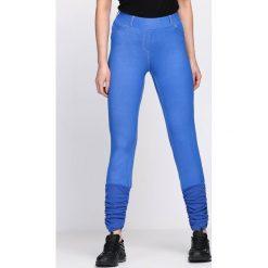 Niebieskie Legginsy Your Secret. Niebieskie legginsy we wzory Born2be. Za 19,99 zł.