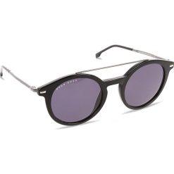 Okulary przeciwsłoneczne BOSS - 0929/S Black 807. Czarne okulary przeciwsłoneczne damskie aviatory Boss. W wyprzedaży za 529,00 zł.