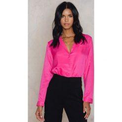 Koszule wiązane damskie: Moves Koszula Nastacha – Pink