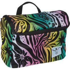 """Kosmetyczka """"Washbag"""" z kolorowym wzorem - 28 x 20,5 x 14 cm. Szare kosmetyczki damskie Chiemsee Bags, w kolorowe wzory. W wyprzedaży za 65,95 zł."""