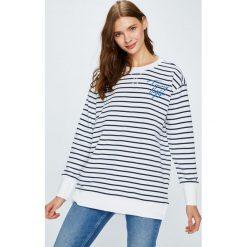Tommy Hilfiger - Bluza. Szare bluzy damskie marki TOMMY HILFIGER, l, z bawełny. W wyprzedaży za 399,90 zł.