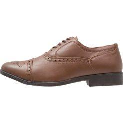 Buty wizytowe męskie: Feud London TOECAP OXFORD Eleganckie buty brown