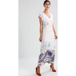 Długie sukienki: Ivko LONG DRESS FLORAL Długa sukienka offwhite