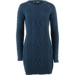 Sukienki: Sukienka dzianinowa bonprix ciemnoniebieski