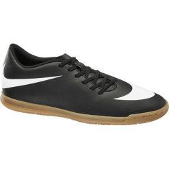 Buty sportowe męskie: buty męskie do piłki nożnej Nike Bravata Ic NIKE czarno-białe