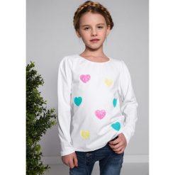 T-shirty dziewczęce: Biała Bluzka NDZ7687