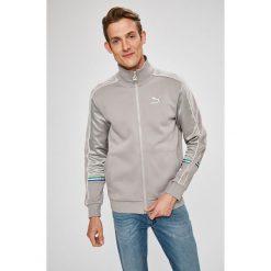 Puma - Bluza. Szare bluzy męskie rozpinane marki Puma, l, z bawełny, bez kaptura. W wyprzedaży za 359,90 zł.
