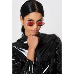 NA-KD Accessories Owalne okulary przeciwsłoneczne - Pink. Różowe okulary przeciwsłoneczne damskie aviatory NA-KD Accessories, owalne. Za 80,95 zł.