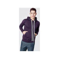 Bluzy męskie: Bluza bawełniana z kapturem Basic Purple