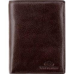 Portfel 21-1-027-44. Brązowe portfele męskie Wittchen. Za 329,00 zł.